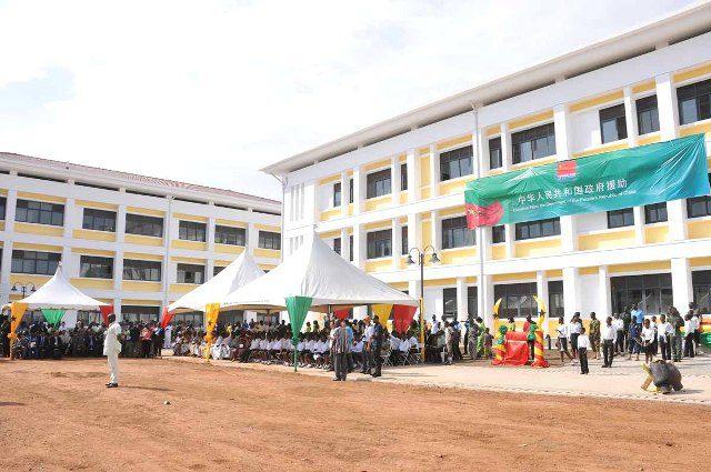 Okpoti School Complex buildings