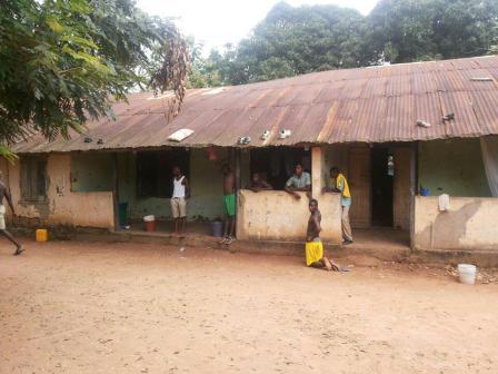 Boys dormitory of Leklebi Senior high school