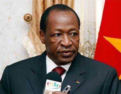 Former President Blaise Compaor?