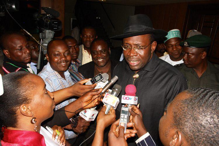 Bayelsa Governor Resinged