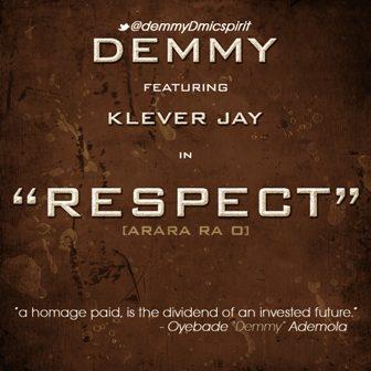 Demmy ft. Klever Jay - RESPECT Artwork