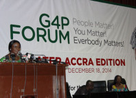 A top NDC figure addressing the gathering