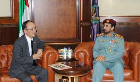 Lt. General Al Sha?far during the meeting.