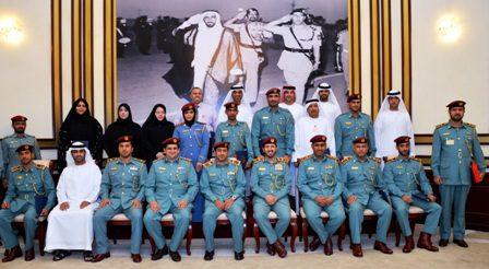 Major General Dr. Nasser Lakhrebani Al Nuaimi Honors Participants in Developing Al Faraj Fund