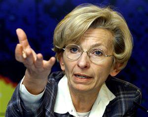 Emma Bonino,-FORIEGN MINISTER-ITALY