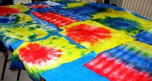 Batik and tie and die making