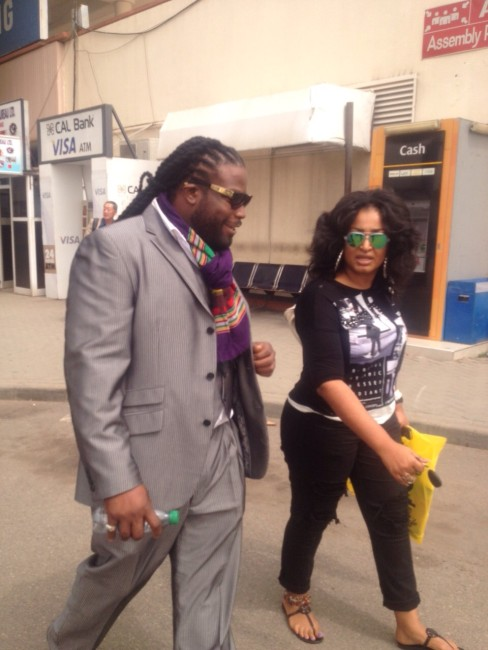 GRAMPS MORGAN ARRIVES IN ACCRA,GHANA,FOR MAJOR CONCERT JANUARY 16!