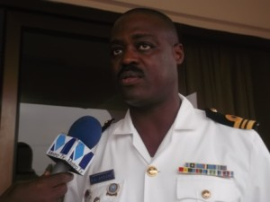 Lt Cdr Andy La-Anyane