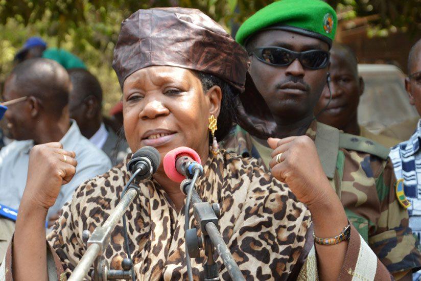 President Catherine Samba-Panza. (Internet photo)