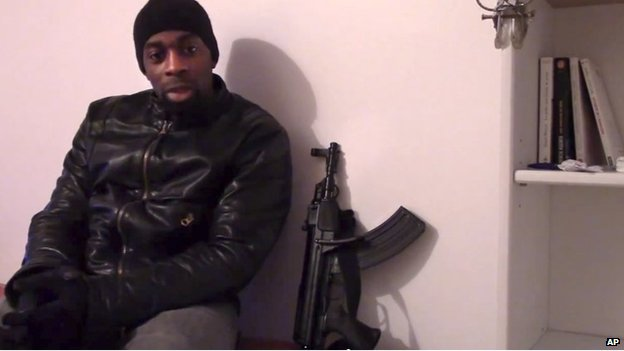 Coulibaly is believed to have been involved in drug crime and knew one of the Kouachi brothers