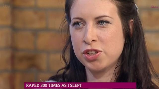 Sarah Tetley, 26, from Melton Mowbray, awoke to her husband Charlie Tetley, now 34, molesting her. She reported him to the police and they confiscated his computer, where they found 300 films of Charlie raping and abusing his wife as she slept