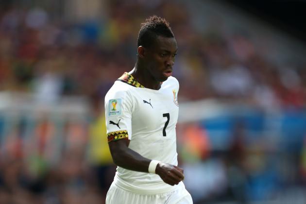 Christian Atsu wants focus against Algeria, South Africa