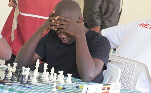 Chess star Arthur Ssegwanyi