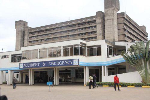 Kenyatta National Hospital building