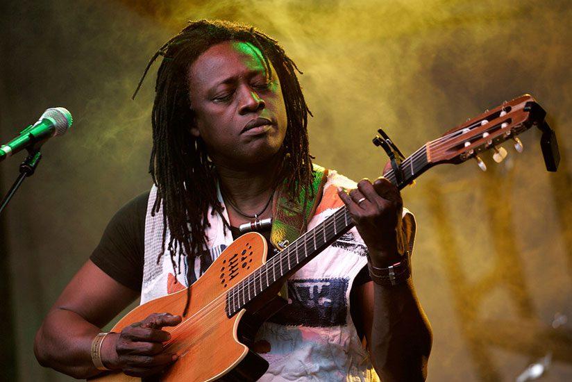 Malian music star Habib Koite