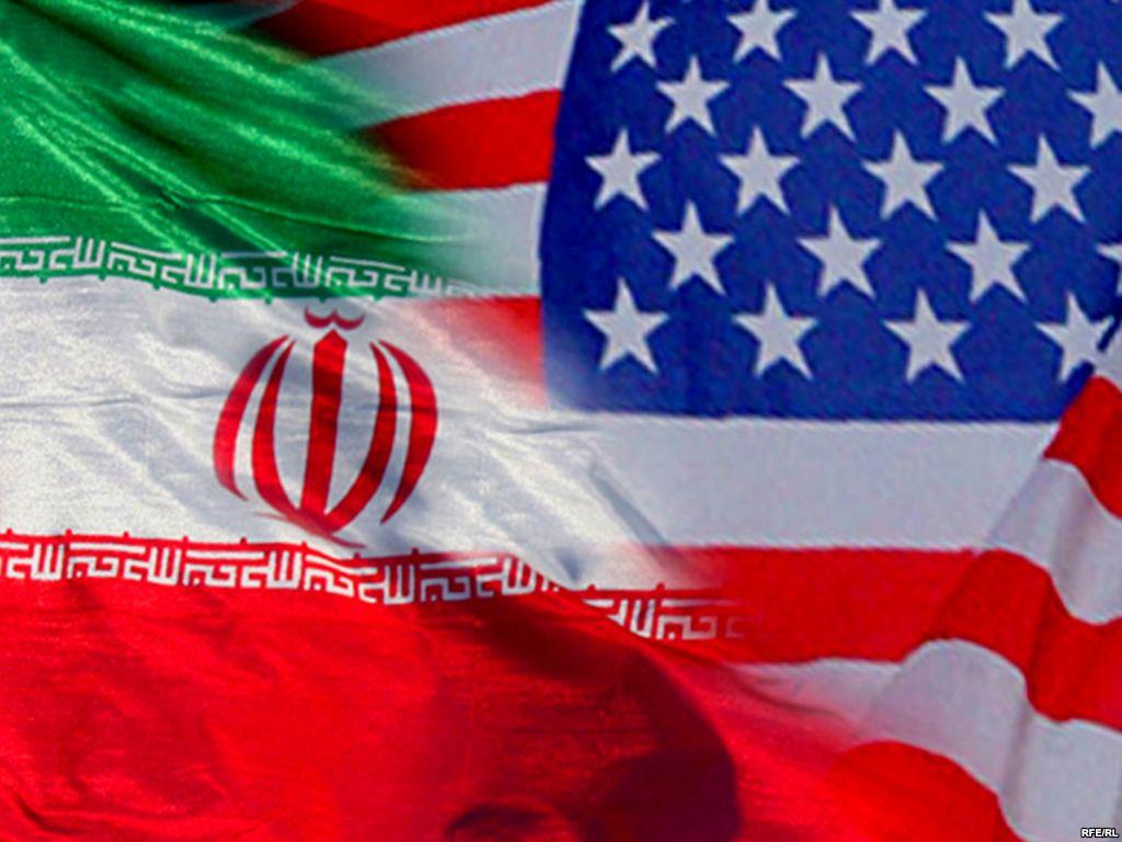 IRan-Us-Flags