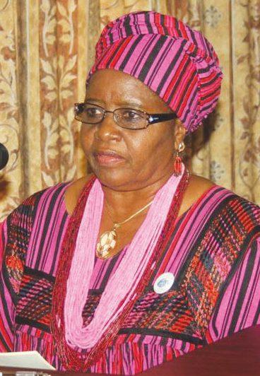 Namibia's first lady Penehupifo Pohamba