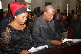 Dr. Valerie Sawyerr and President Mahama