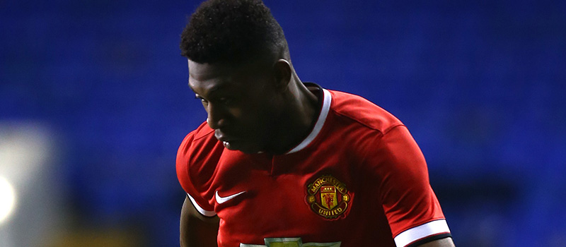 Ghanaian Timothy Fosu-Mensah at Manchester United