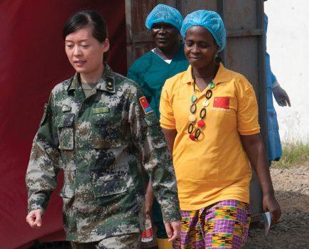 Ebola - A bumpy road to zero transmission
