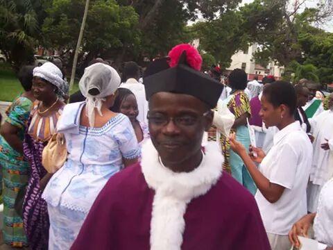 Reverend Canon Patrick Okaijah-Bortier