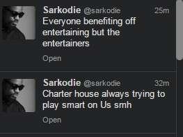 Sarkodie blasts Charterhouse
