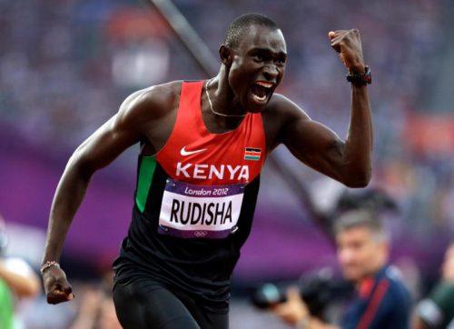800m World record holder David Rudisha