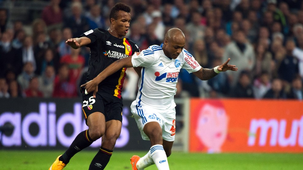 Andre Ayew will be in action for Olympique Marseille on Sunday