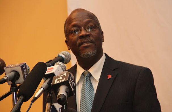 Minister for Works Dr John Magufuli