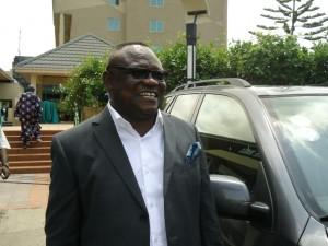 Ghana Vice FA president Fred Crentsil