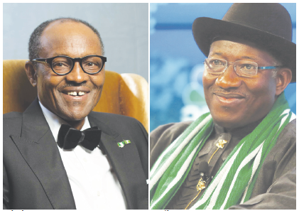 Gen Buhari and Goodluck Jonathan