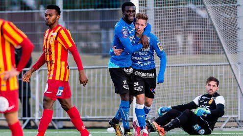 Kwame Karikari scored the solitary goal against Elfsborg