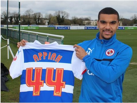Kwesi Appiah only joined Reading two days ago