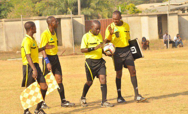 Referee J.A Amenya reported to GFA