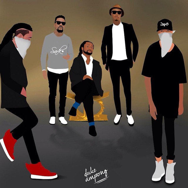 animated_gha_musicians This Is What Happens When Your Favorite Ghanaian Celebs Are Animated ? Photos animated gha musicians