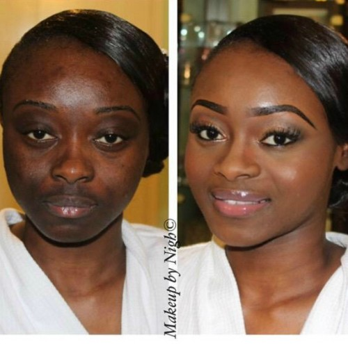 before-and-after-make-up-on-ig-1-500x495 SKIN PROBLEMS? See The Wonders Of Make Up! Interesting Before & After Images! before and after make up on ig 1