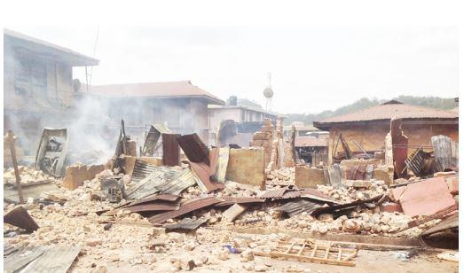 fire outbreak in Ebonyi