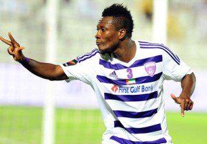 Ghana and Al Ain superstar Asamoah Gyan