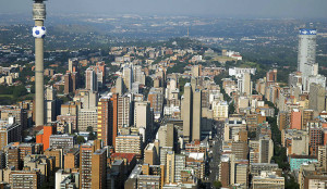 Johannesburg, South Africa. Second richest economy in Africa. Source: Reuters via ibtimes