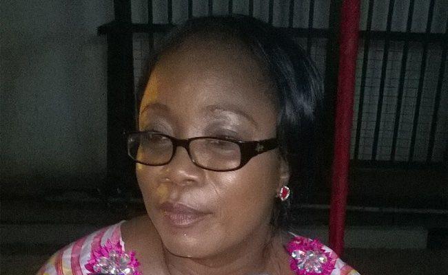 MP aspirant Cynthia