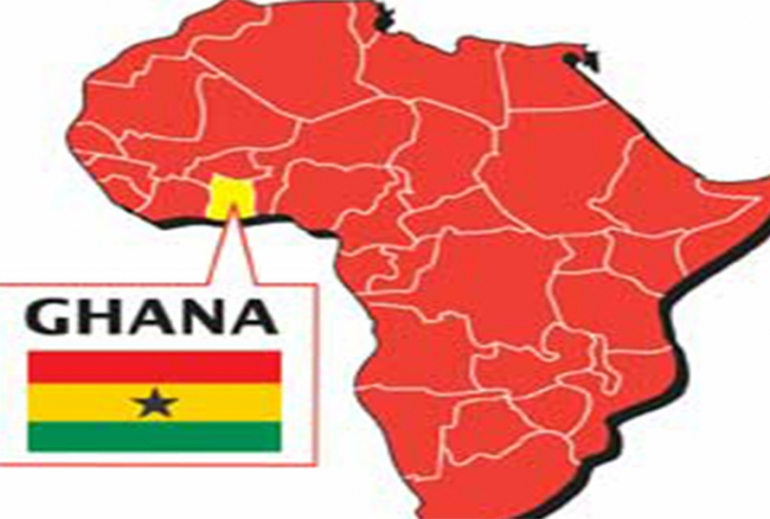 Ghana In Africa Map.Ghana Falls Among The Six Most Peaceful Countries In Africa News Ghana