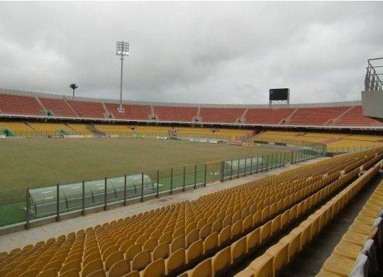 Accra Sports Stadium pitch.