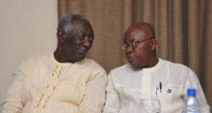 John Agyakum and Nana Akufo-Addo