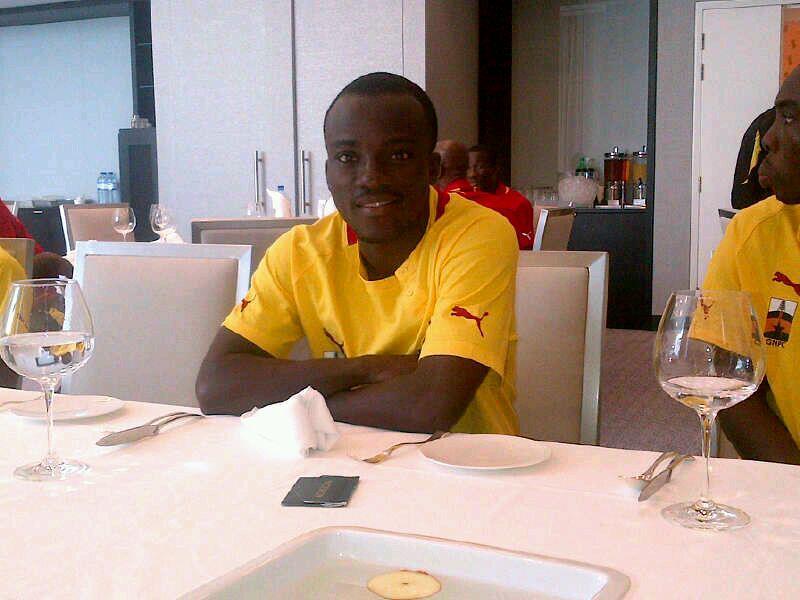 Ghana winger Solomon Asabte