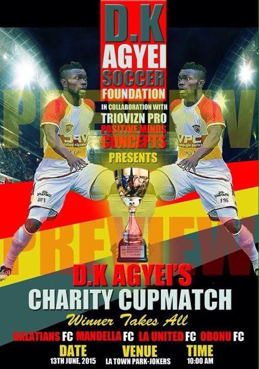 Daniel Kofi Agyei charity match