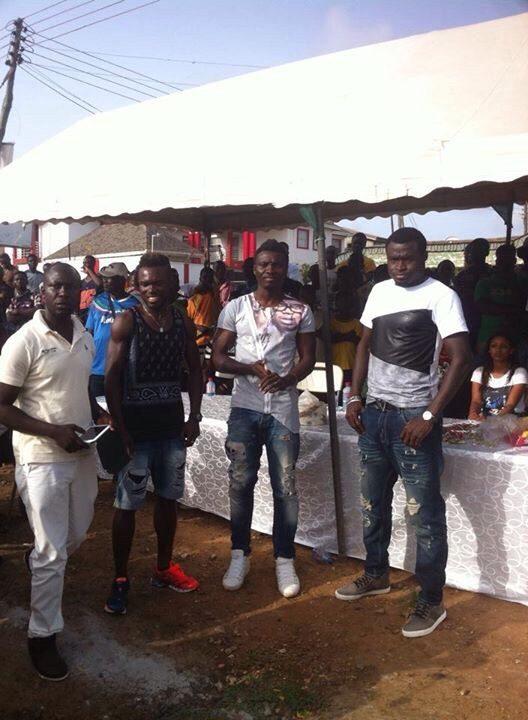 Daniel Kofi Agyei charity match.