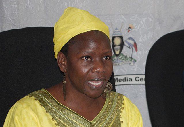 Director General of Uganda AIDS Commission Dr. Christine Ondoa