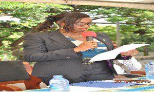 General Manager, ECG - Western Region, Ing. Jacqueline Ofori Atta