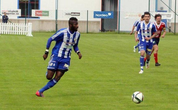 Ghanaian midfielder Eduam