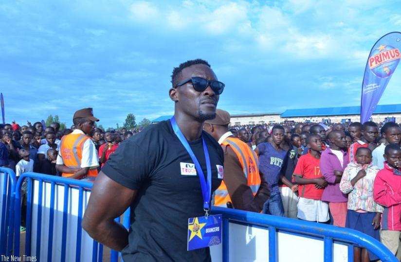 Jean Claude Uwihanganye, popularly known as Mbarabukeye.
